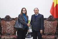 Thủ tướng tiếp Đại sứ Israel tại Việt Nam Meirav Eilon Shahar