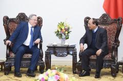 Thủ tướng Nguyễn Xuân Phúc tiếp Bộ trưởng Bộ Ngoại giao Hy Lạp Nikos Kotzias