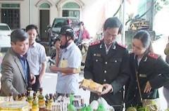 Hà Tĩnh: Đình chỉ cơ sở sản xuất củ mài tại Khu di tích đền ông Hoàng Mười