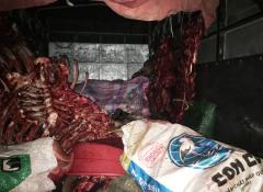 Hà Nam: Bắt giữ số lượng lớn thịt bò, nội tạng động vật hôi thối