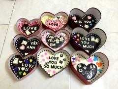 Quà tặng Valentine 2017: Đa dạng socola handmade 'siêu độc đáo'