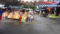 TP. HCM: Điểm chợ tự phát ở phường 17, quận Gò Vấp tồn tại do lực lượng mỏng?