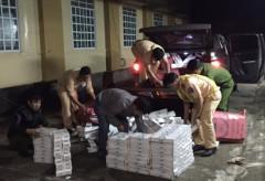 Gia Lai: Bắt giữ gần 7.000 gói thuốc lá lậu trên xe ô tô