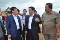 Phó Thủ tướng Vương Đình Huệ thăm và làm việc tại Bình Định