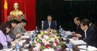 Vĩnh Phúc: Ban Thường vụ Tỉnh ủy kiểm tra thực hiện Nghị quyết Trung ương 4 Khóa XII
