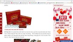 Hothanbao.com quảng cáo sản phẩm không đúng sự thật