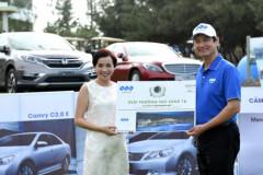 """Golfer Trần Phương ẵm giải """"Hole- in- one"""" tại FLC Golf Championship 2017"""