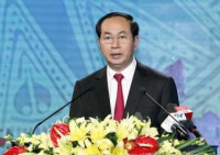 Chủ tịch nước Trần Đại Quang tham dự Lễ kỷ niệm 70 năm Ngày Bác Hồ về thăm Thanh Hoá