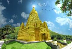 Chùa Ba Vàng sắp có Đại Bảo Tháp bằng đồng nặng 300 tấn
