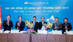 Vietnam Airlines thông qua nhiều điều khoản quan trọng tại Đại hội đồng cổ đông bất thường năm 2017