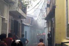 TP. HCM: Hỏa hoạn thiêu rụi nhiều phòng trọ