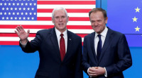 Phó Tổng thống Mỹ khó giải tỏa được mối lo ngại của EU về Donald Trump