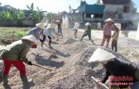 Xã Quỳnh Văn (Nghệ An): Tạo đà vững chắc - hướng tới đổi mới toàn diện năm 2017