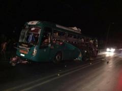 Quế Võ (Bắc Ninh): Xe khách phát nổ kinh hoàng 2 người tử vong