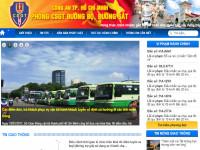 Ra mắt Trang thông tin điện tử Cảnh sát giao thông TP. Hồ Chí Minh