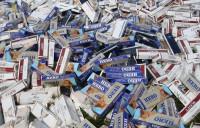 Bình Phước: Bắt giữ 2 đối tượng vận chuyển 6.500 bao thuốc lá ngoại nhập