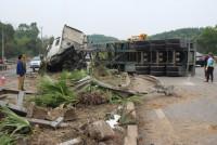 Cao tốc Thái Nguyên - Hà Nội: Xảy ra vụ tai nạn nghiêm trọng