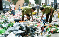 Hà Nội: Hơn 1.200 vụ buôn lậu, GLTM được phát hiện, xử lý trong tháng 2/2017