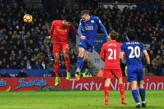 Vardy lập cú đúp, Leicester City hạ gục Liverpool