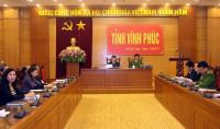 Ban Chỉ đạo 138 Chính phủ hội nghị trực tuyến tại điểm cầu Vĩnh Phúc