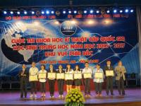 Cuộc thi khoa học - kỹ thuật cấp quốc gia: 5 giải nhất