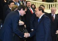 Thủ tướng tiếp đoàn doanh nghiệp Hội đồng kinh doanh Hoa Kỳ-Asean