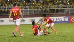 """V-League: Sài Gòn FC """"bắn hạ"""" SL Nghệ An trong trận cầu giàu kịch tính"""