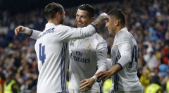 Ronaldo và Ramos lập công, Real Madrid đòi lại ngôi đầu La Liga