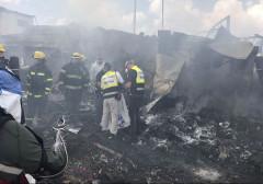 Cháy kho pháo hoa tại Israel, 8 người thương vong