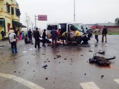 Xe đón dâu gặp nạn ở Hà Nam khiến nhiều người thương vong