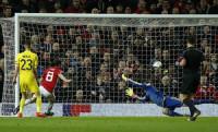 Mata ghi bàn duy nhất đưa Man Utd vào tứ kết Europa League