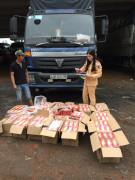 Thanh Hóa: Bắt xe vận chuyển 2.130 quả pháo