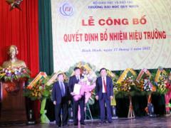 Bình Định: Đại học Quy Nhơn có hiệu trưởng mới