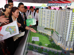 TP. HCM: Mở bán gần 700 căn hộ có giá vừa túi tiền