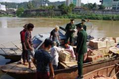 Lào Cai: Thu giữ số lượng lớn trứng gà nhập lậu