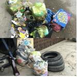 Hoằng Hóa (Thanh Hóa): Dịch vụ vệ sinh môi trường trì trệ, người dân sống chung với rác