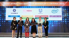 Vinamilk 3 năm liền đứng thứ 2 top 100 'Nơi làm việc tốt nhất Việt Nam'