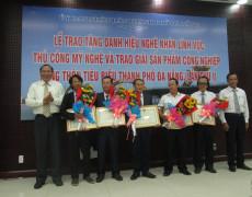 Đà Nẵng: Trao tặng danh hiệu nghệ nhân lĩnh vực Thủ công mỹ nghệ và trao giải sản phẩm công nghiệp