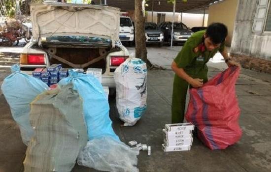 Tiền Giang: Bắt giữ hơn 4000 bao thuốc lá nhập lậu - Hình 1