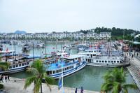 Đắm tàu du lịch trong âu cảng quốc tế Tuần Châu