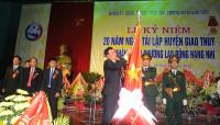 Huyện Giao Thủy (Nam Định): Tự hào 20 năm tái lập và phát triển