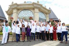 12 đầu bếp nổi tiếng thế giới giao lưu ẩm thực tại Bà Nà Hills