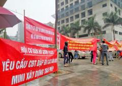 Hà Nội : Nhiều chung cư lớn đang khiến cư dân bức xúc