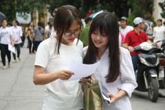 Khảo sát kỳ thi học sinh lớp 12 tại Hà Nội: Tập dượt trước kỳ thi chính thức