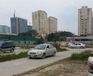 Hà Nội: Xuất hiện bãi tập xe trái phép ở Nam Trung Yên?