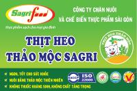 Thịt heo Thảo mộc Sagri VietGAP có mặt tại hệ thống Aeon Citimart và hệ thống Zakka Mart