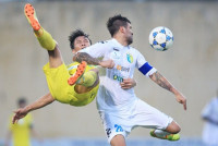 """Vòng 13 V-League: Samson lập công phút bù giờ, Hà Nội FC """"bắn hạ"""" SLNA"""