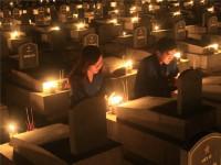 Thắp hơn 9.000 ngọn nến tri ân các anh hùng liệt sỹ ở Bình Thuận