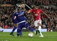 Europa League: Mkhitaryan, Rashford lập công, M.U đánh bại Anderlecht sau 120 phút kịch tính