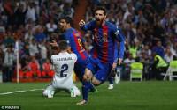 La Liga: Messi tỏa sáng, Barca ngược dòng thắng kịch tính Real